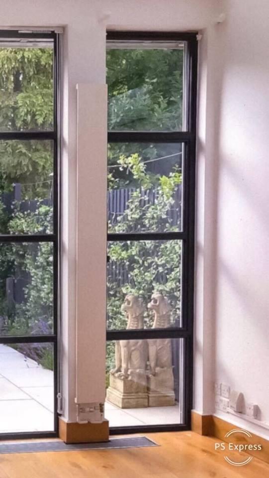 okno stalowe.Secco